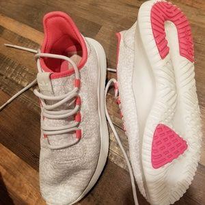 Grey and pink Adidas